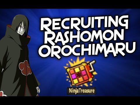 Recruiting Rashomon Orochimaru in Ninja Treasure