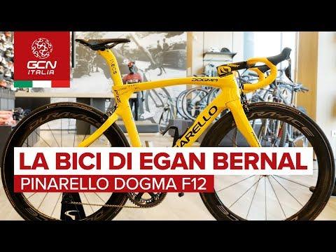 La Pinarello Dogma F12 di Egan Bernal | Biciclette dei professionisti