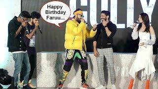Ranveer Singh's Funny Rap Birthday Wish For Farhan Akhtar, He Can't Stop Blushing