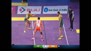 Puneri Paltan vs Patna Pirates, season 4