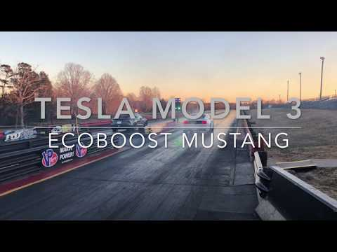 Tesla Model 3 Beats Ford Mustang