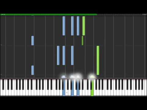 Memoirs of a Geisha- Chairman's Waltz (Synthesia Piano Tutorial)