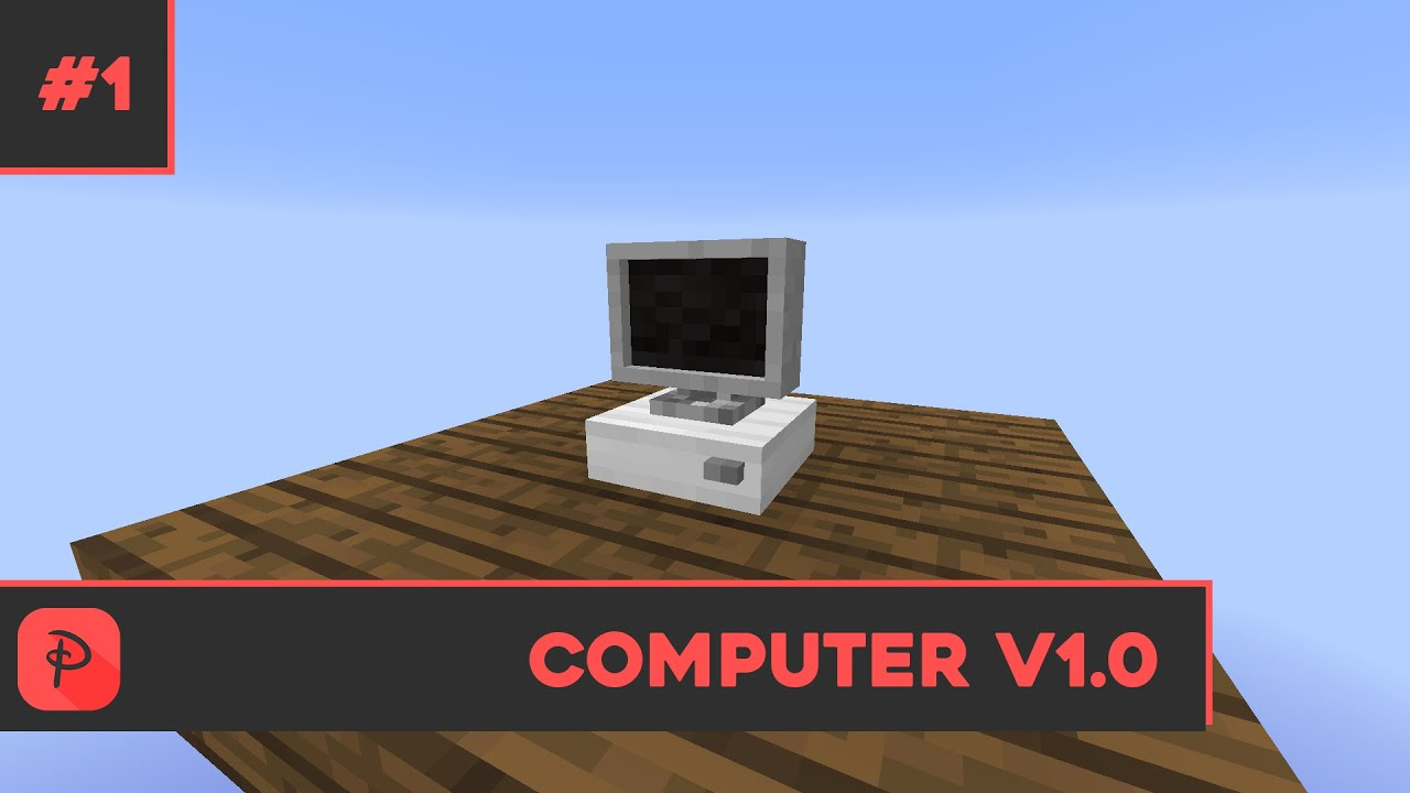 Computer v1.0 - Minecraft 3d Models - YouTube