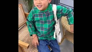 [안녕소년] 체크블라우스_남자아기옷 쇼핑몰