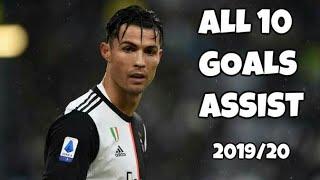 Cristiano Ronaldo All 10 Goals amp Assist in 201920 - Juventus HD