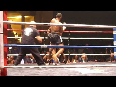 Simon Marcus fight on a charity event in NYC