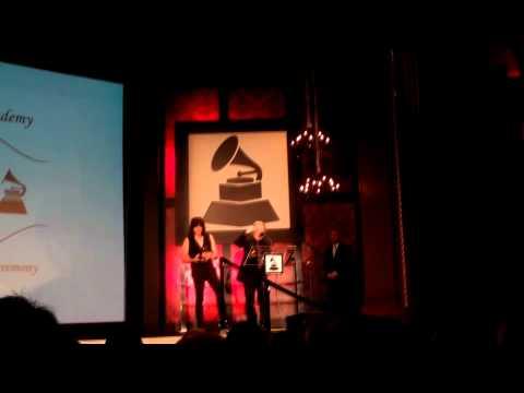 The Ramones receive GRAMMY Lifetime Achievement Award - Pt. 2 of 2