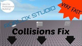 ¡Corrección de colisión en Roblox Studio!