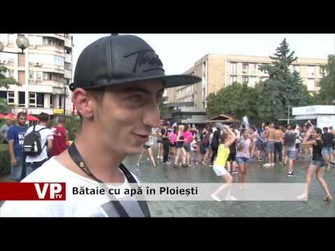 Bătaie cu apă în Ploiești