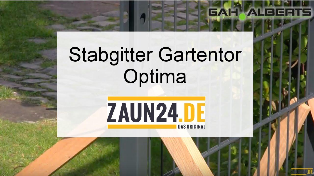 Stabgitter Gartentor Optima