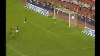 Totti with a funny penalty