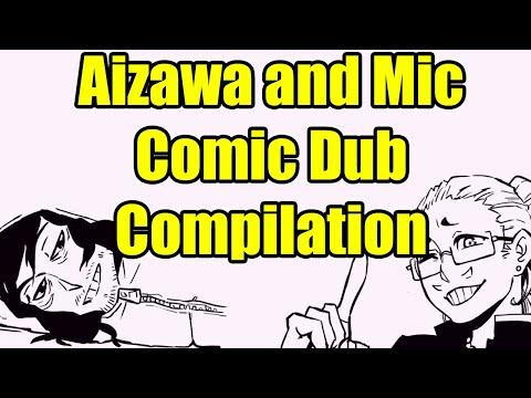 Aizawa and Mic Comic Dub Compilation
