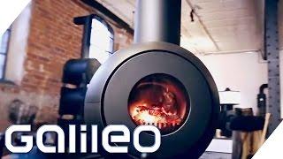 Kochen & Backen mit einem Ofen | Allrounder-Ofen Firetube | Galileo | ProSieben