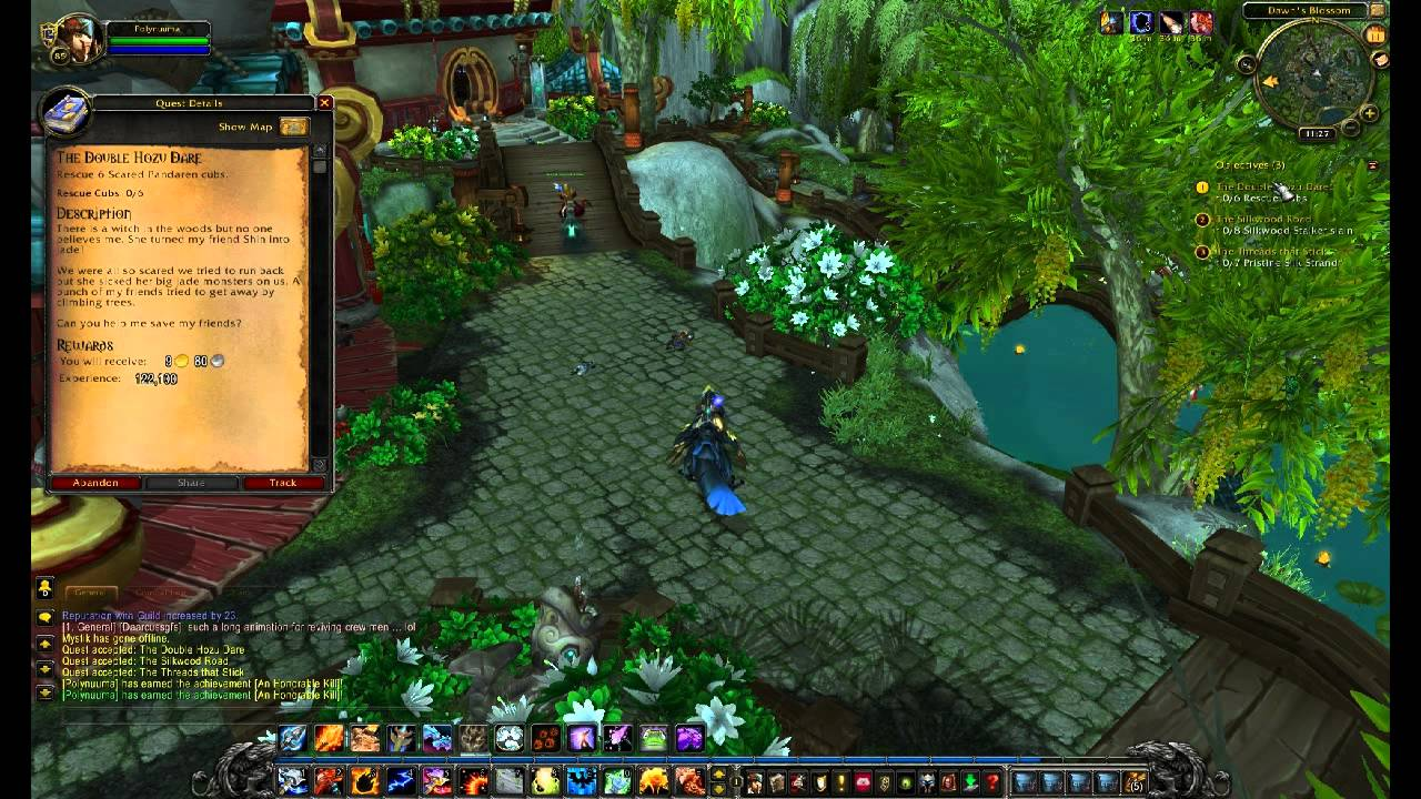 The Jade Forest  3  Anduin Wrynn and Dawns Blossom  YouTube