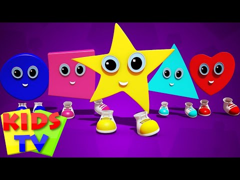 shapes finger family | learn shapes | nursery rhymes | kids songs | childrens rhymes | kids tv
