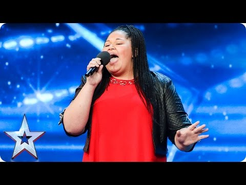 We think Destiny Chukunyere is born to sing | Auditions Week 6 | Britain's Got Talent 2017