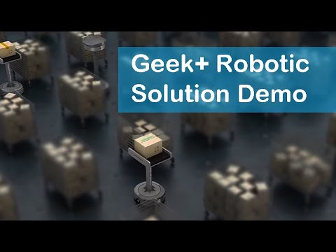Geek+ raises $150M for global expansion of autonomous mobile robots