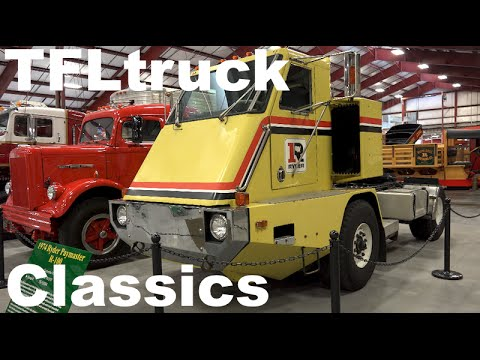 cool classic trucks revealed at the iowa 80 truck stop museum in