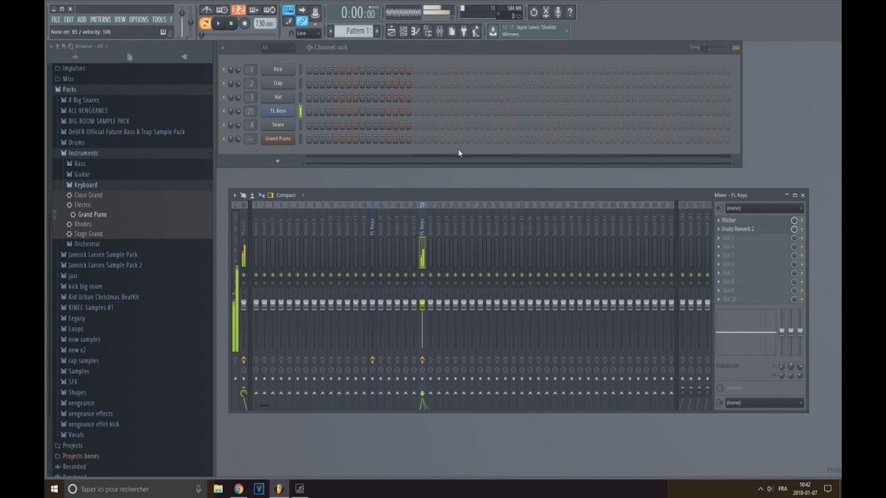 FL STUDIO   How to make a lofi piano sound (EASY)