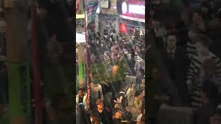 渋谷ハロウィン2018喧嘩その1