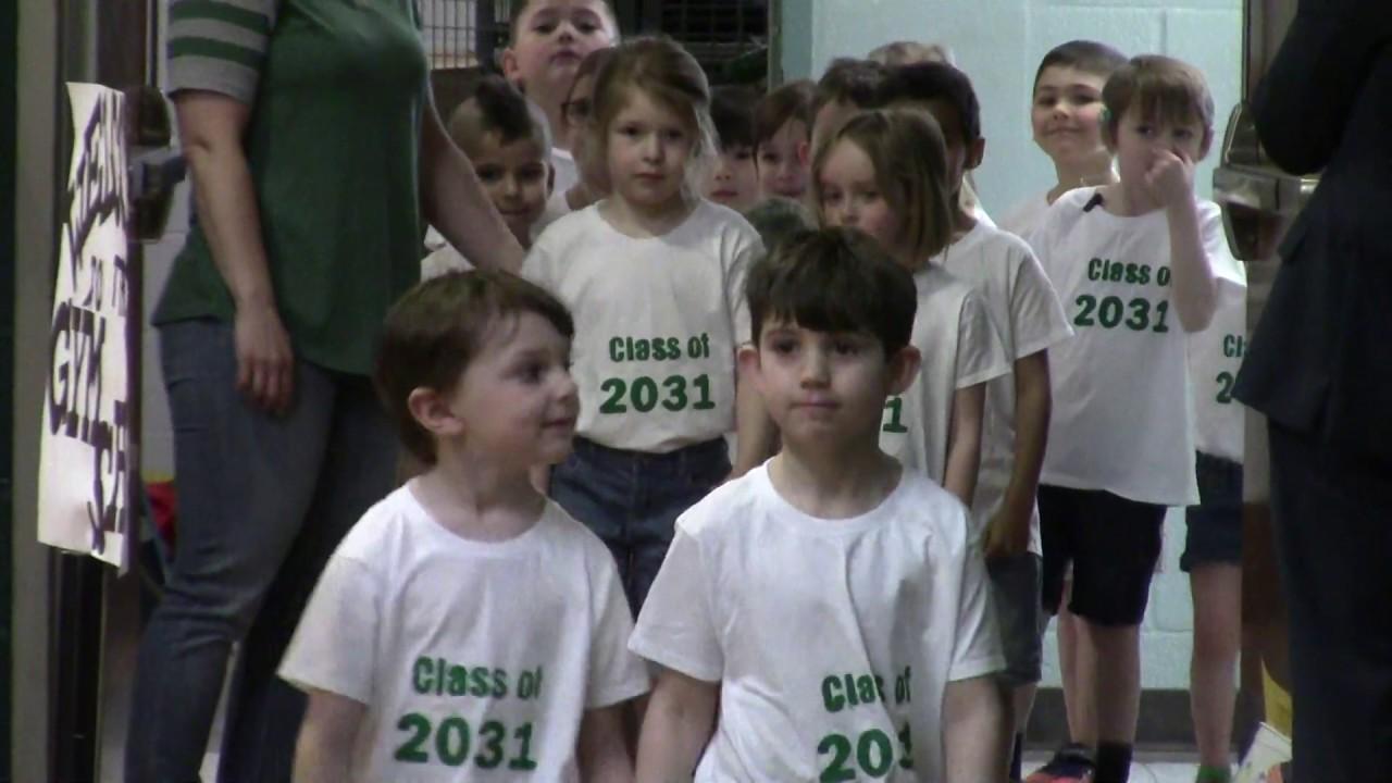 CCRS Kindergarten Gym Show  4-11-19