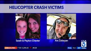 9 Victims Of Calabasas Helicopter Crash Identified