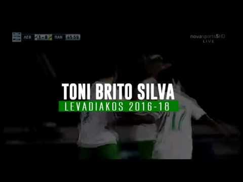 Toni Silva - Goals & Amazing Dribbling Skills with Levadiakos 2018| Highlights