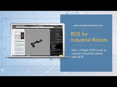 [ROS tutorial] ROS with industrial robots 101 + programming UR5