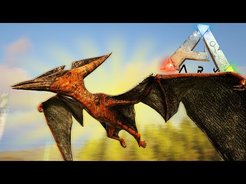 ЛЕТАЮЩИЙ ДИНОЗАВР ПТЕРАНОДОН, ДИНО МОД | Ark Survival Play As Dino