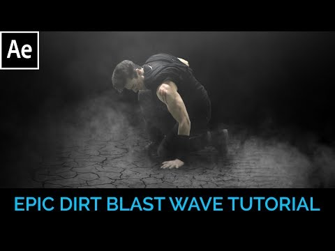 Epic Dirt Blast Wave - After Effects Tutorial!