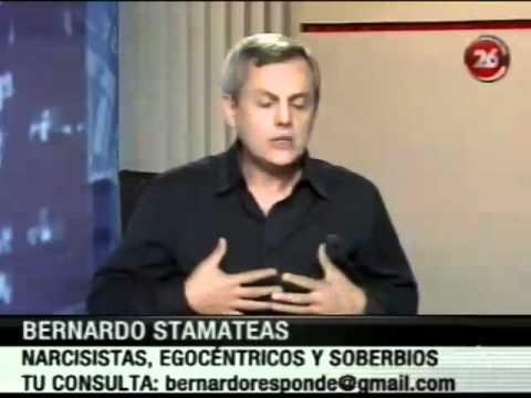 """""""Los narcisistas"""" por Bernardo Stamateas en Canal 26"""