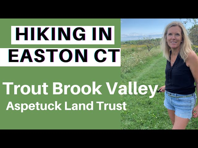 Hiking at the Trout Brook Valley Preserve: Easton/Weston