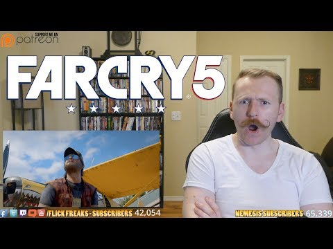 Far Cry 5 - Official Announce Trailer (Reaction & Review)