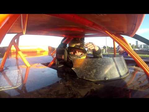 Don Hammer Racing.   Hell Tour 2016 Hard Crash.  Farmer City