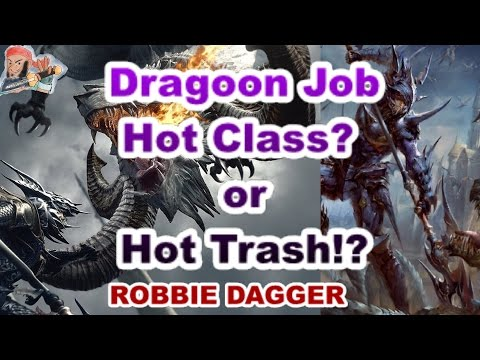 Mobius Final Fantasy- Dragoon Job: Hot Class? or Hot Trash? (8 panel Dragoons in Multiplayer)