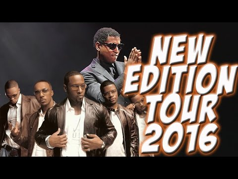 New Edition Tour 2016