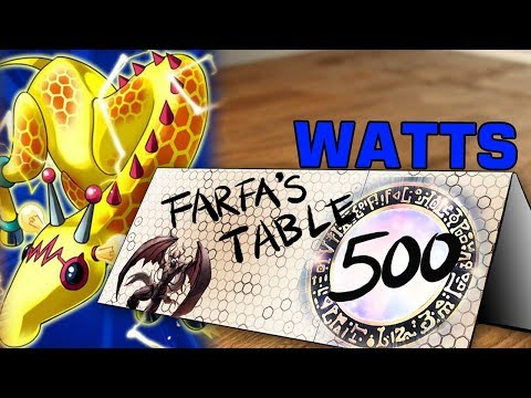 "Table 500 #109 Watts ""Think you can insult me by email and I'll show your replay? Absolutely."""