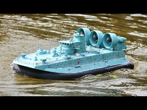 Real RC Military Hovercraft - TheRcSaylors