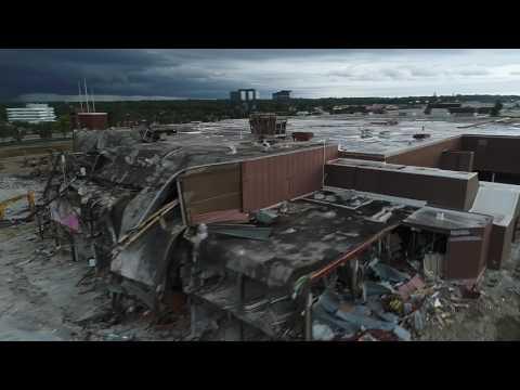 Metcalf South Mall Demolition, Overland Park, KS. July 2017
