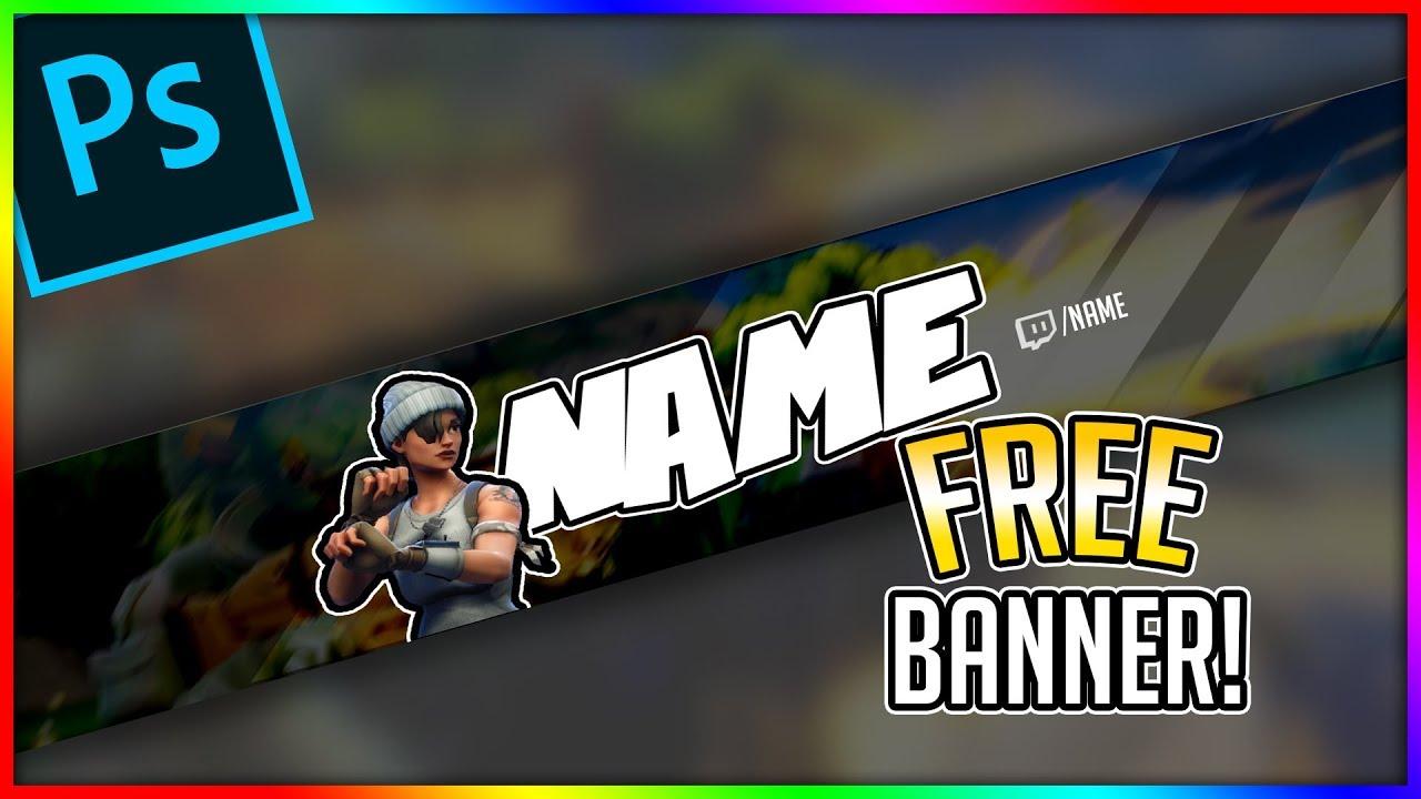 Free Fortnite Youtube Banner Youtube