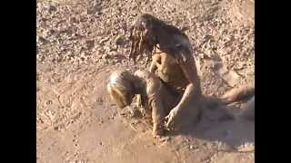 Repeat youtube video FLAG GIRL MUD WRESTLING