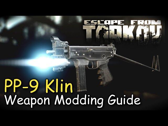 PP-9 Klin/ PP-91 Kedr Weapon Modding Guide (Skier Loyalty Level 2