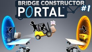 №1097: СТРОИТЕЛЬСТВО МОСТОВ В ПОРТАЛ(Bridge Constructor Portal) #1