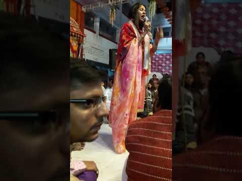 Reshmi Sharma | Roti Hui Aakho Ko Mere Shyam... Hazri @ Panchayati Bhawan, Khatu Shyam Ji 31/11/2017