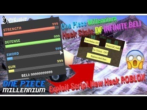 Videos Matching Op Roblox Hackscript One Piece Millenium Op One Piece Millennium Gui Script Hack Infinite Money Tp Haki Df Youtube