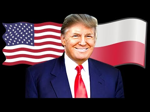 President Donald Trump People of Poland Speech, Three Seas,