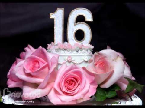 С днём рождения дочка - 16 лет!!! (20.02.2014 от МАМЫ)