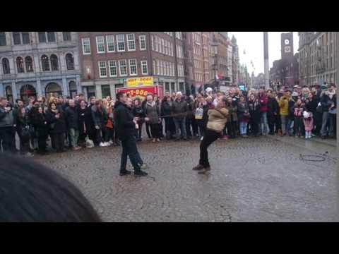 Amsterdam dam Street show