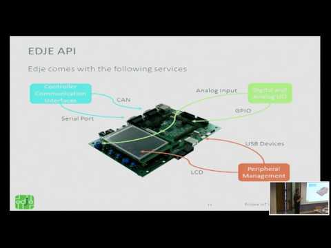 Eclipse Edje project: the software foundation for IoT devices - Eclipse IoT Day Grenoble 2016