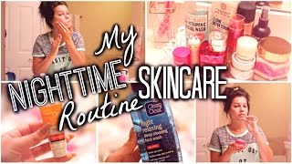 My Night Time Skincare Routine  |  Get UN-Ready with me! ALL DRUGSTORE!